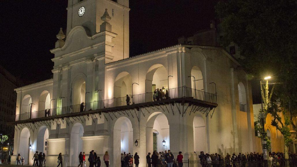 Museo Histórico Nacional del Cabildo y de la Revolución de Mayo - Nuestros Museos, en la Noche de los Museos