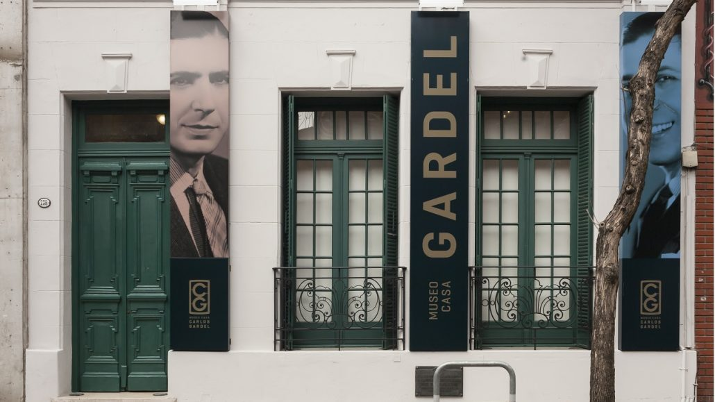museo casa carlos gardel exterior